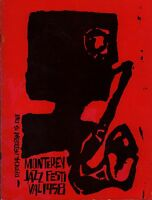 BILLIE HOLIDAY / LOUIS ARMSTRONG 1958 MONTEREY JAZZ FESTIVAL PROGRAM / EX 2 NM