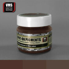 VMS SPOT-ON Pigment No. 07a Dark Iron Oxide Rust 45 ml model weathering powder