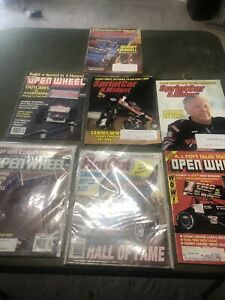 Sammy Swindell Lot Of Magazines World Of Outlaws Sprint Car Auto Racing