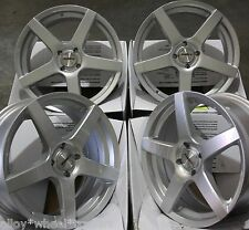 "17"" silver pace roues en alliage convient 4x100 opel vauxhall agila astra meriva tigra"
