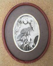 Rare Gravure Eau-Forte Burin Jean-Emile Laboureur Diable amoureux Cazotte 1923