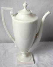 Lenox White Colonial Pattern Coffee Pot