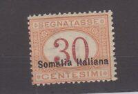 Italy Somalia 1920 30c Postage Due SGD42 MNH Cat £160 Superb JK2276