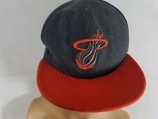 Miami Heat Cap Hardwood Classics Hat NBA Basketball Snapback Adjustable New Era