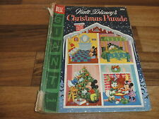 Walt Disney`s:  CHRISTMAS PARADE  # 7 -- Dell  1955