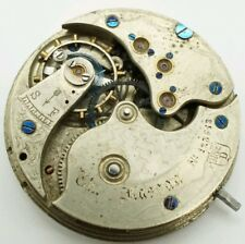 Rare The Nassau High Grade watch movement 34.6mm for repair