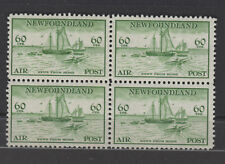 NEWFOUNDLAND C16 never hinged block of four