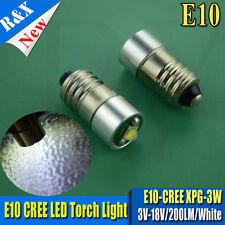 2x MagLite LED Conversion/upgrade bulb Torch/flashlight  AAA Cell CREE 3V - 18V