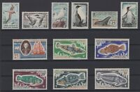 CG141592/ FRENCH ANTARCTIC / LOT 1959 – 1971 MINT MNH CV 325 $