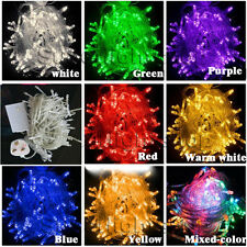 8 Multi-Action 100/200/300/500 LED Xmas Party Wedding Tree Fairy String Lights