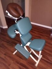 Oakworks Portal Pro 3 Portable Seated Massage Chair w/ 2 chest cushions male/fml