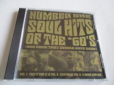 SOUL HITS SAMPLER Number One Soul Hits Of The 60s CD Promo Only 1997 10Track NEW