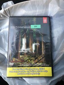 Adobe Photoshop Lightroom 5 Windows / Mac OS DVD - With Insert