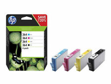 Genuine HP 364 Combo Pack Set 4 Ink B/C/M/Y for HP Photosmart 5520 7520 -N9J73AE