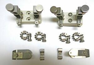 Two Original RCA 833 / 833A Tube Socket + Top Caps
