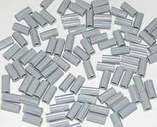 LEGO LOT OF 100 NEW LIGHT BLUISH GREY TECHNIC AXLE CONNECTORS PIECES
