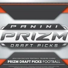 2019 Panini Prizm Draft Picks Football Trading Cards 1-135 With Rookies