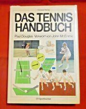 Das Tennis Handbuch , Paul Douglas , Christian Verlag , HC , 1982 , TOP