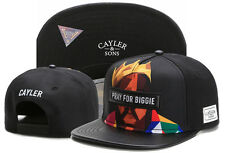 New Hip Hop Men's CAYLER Sons Cap adjustable Baseball Snapback Black hats 122#
