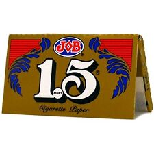 Authentic Job 1.5 Cigarette Rolling Papers-Gold 24 Books Box SAME DAY SHIPPING