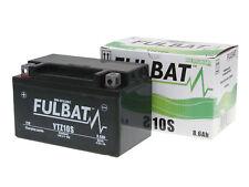 Batería Fulbat gel Ftz10s SLA MF para Kymco SYM vs Suzuki 125 Burgman 400
