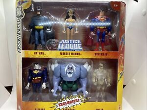 DC Super Heroes Justice League Unlimited EXCLUSIVE Action Figure 6-Pack NEW!