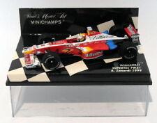 Coches de Fórmula 1 de automodelismo y aeromodelismo williams de acero prensado