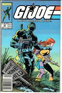 GI Joe ARAH (1982 Series) #63 Newsstand September 1987 Marvel FN- 5.5