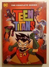 NEW! TEEN TITANS. THE COMPLETE TV SERIES, SEASONS 1-5. 7 DVD BOX SET. SHIPS FREE
