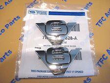 2 Ford Escape Rear V6 Emblem Nameplate Chrome OEM New Genuine Ford  2007-2012