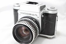 **For Repair** Pentacon Six TL Film Camera w/ Carl Zeiss f2.8/80mm lens #V008