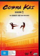 COBRA KAI Season 1 DVD (Region Free) The Complete First Series One