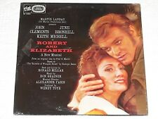 ROBERT & ELIZABETH (1980) Sealed STET LP w/John Clements