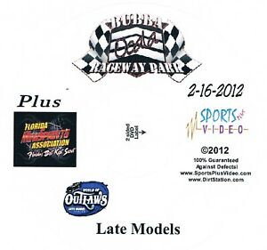 World Of Outlaws Late Models DVD From Bubba Raceway Park 2-16-2012