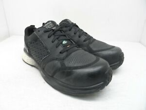 Timberland PRO Men's Reaxion Composite Toe Work Shoe A21SS Black/White 8W