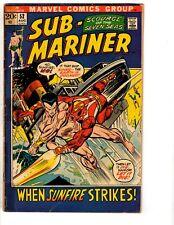 Lot Of 4 Prince Namor Sub-Mariner Marvel Comic Books # 52 53 54 55 VG- Range RH2