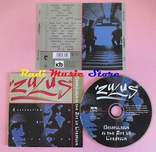 CD ZULUS Destruction art of creation 1996 germany IDE 0087952(Xs8) no lp mc dvd