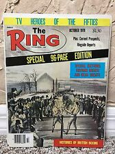 THE RING BOXING VINTAGE MAGAZINE SPECIAL EDITION October 1978 MINT UNREAD