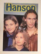 HANSON 1990's AUTHENTIC  POSTER