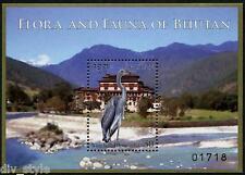 Flora & Fauna of Bhutan minisheet + souvenir sheet mnh 2014
