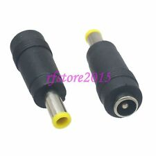 10pcs Adapter Connector DC Power 5.5x1.0mm male to 5.5x2.1mm female for SAMSUNG