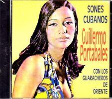 """GUILLERMO PORTABALES Y GUARACHEROS DE ORIENTE - """" SONES CUBANOS"""" - CD"""