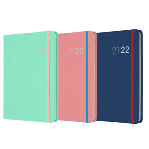Collins Legacy A5 Week to View Hardback Mid Year Academic Diary 2021 - 2022