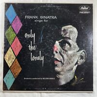 Frank Sinatra : Sings For Only The Lonely (Capitol LP W 1053) 1958