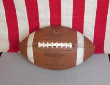 Vintage Rawlings early Leather Football with Laces Sonny Randle Model C118 Nice!