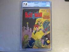 Batman #41 CGC 7.0 Comic Book  1947    1st Batman Sci-Fi Cover