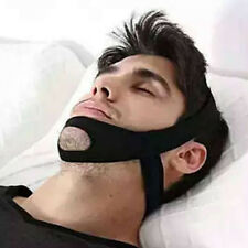 STOP SNORING Chin Strap Anti Snore Sleep Apnea Belt Apnoea Stopper Solution Jaw