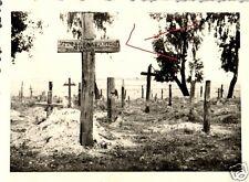 17451/ Originalfoto 9x6cm, Friedhof in Nemki, Russland, 1941