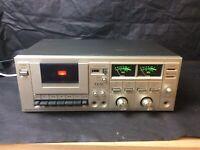 TEAC A-108 SYNC SIMUL SYSTEM CASSETTE DECK PLAYER VU METERS HI-FI SPARE & REPAIR