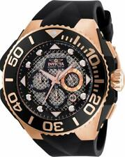 Invicta Coalition Forces 23962 Men's Chronograph Date Black Silicone Watch